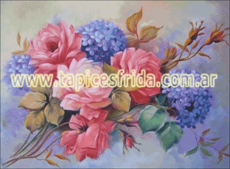 Florales 375x275 Bouquet Ttsl 70 Tapices Frida